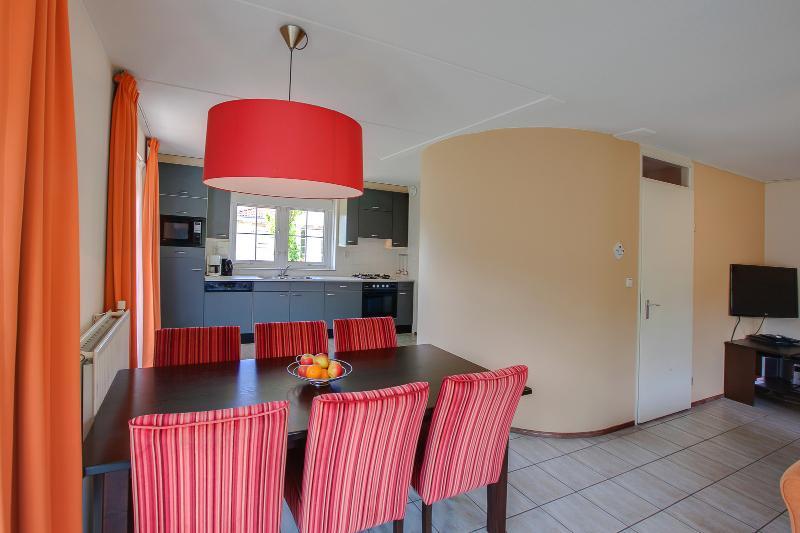Dining area en open kitchen
