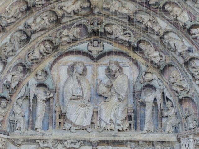 Senlis Cathedral (detail)