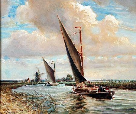 Painting by Charles Mayes Wigg