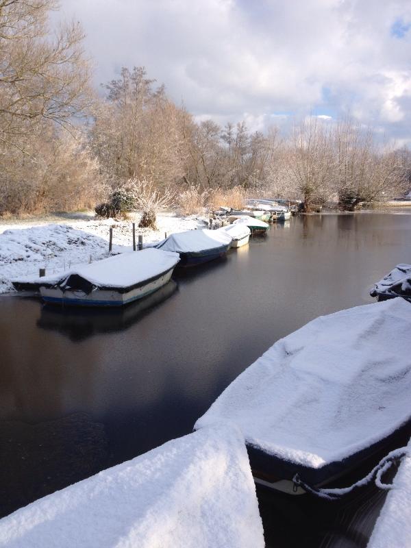 Barton Staithe in the Winter
