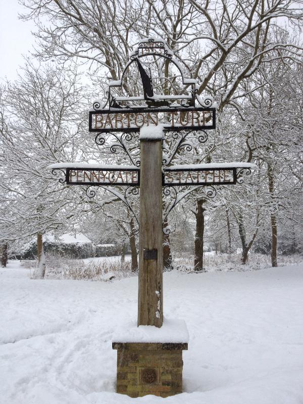 Barton Turf in the Winter