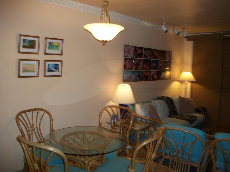 Mesa interior para 4