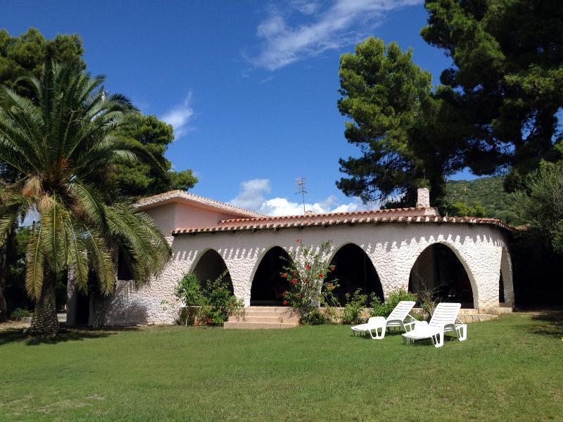 Villa Magnolia front - Villasimius - Sardinia
