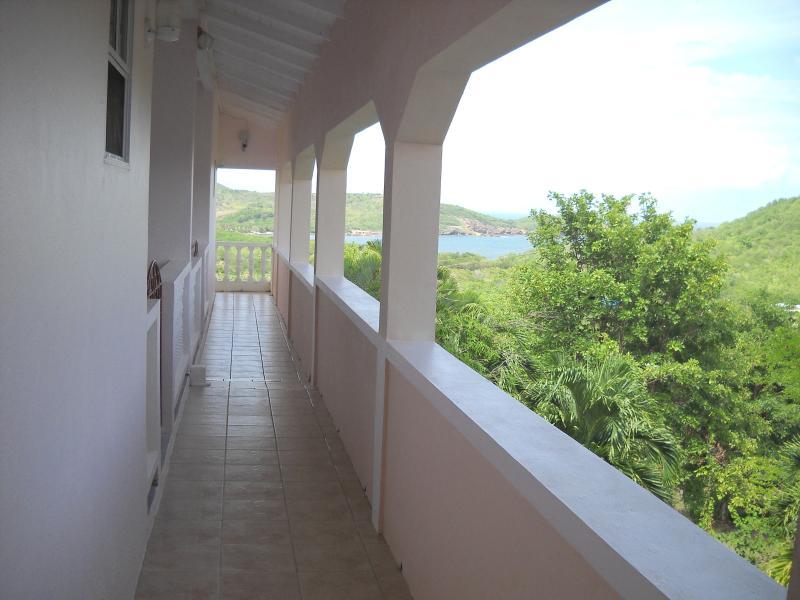 Vista desde balcón de 1 dormitorio