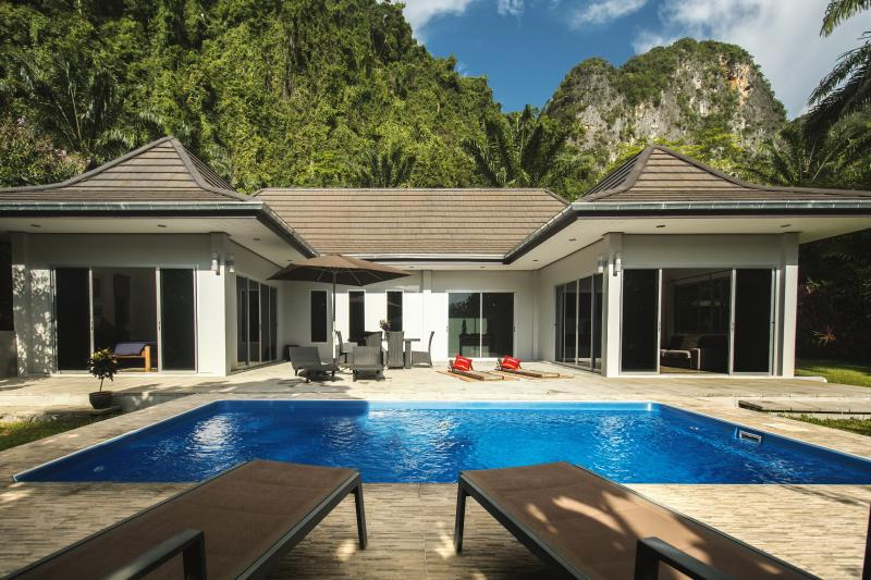 Appreciate total privacy at Eden Villas Krabi.