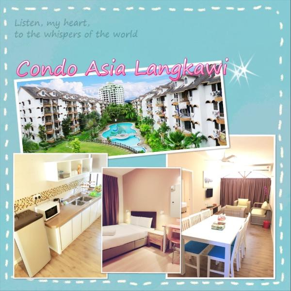 Condo Asia Langkawi(6pax), holiday rental in Kuah