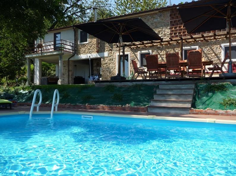 Tuscan mountain house with private pool, holiday rental in Borgo a Mozzano