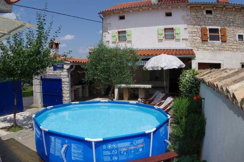 Holiday house Mario in Istria, holiday rental in Bibici