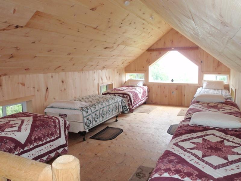 vista interiore di alcune delle cabine eco