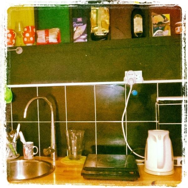 basic kitchen