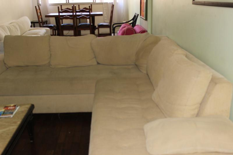 Big sofa in the living room