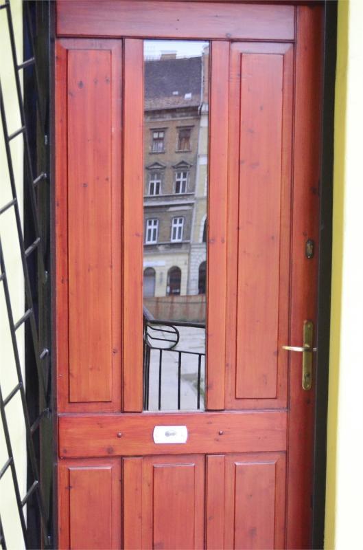 door of the flat