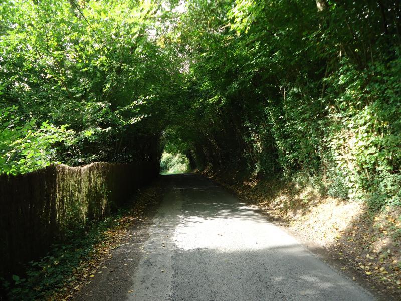 la route d'accés
