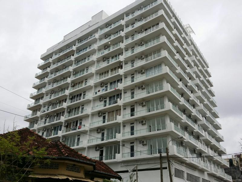 Building Front View (Newly Constructed  Tower in Colombo 6 - Facing Sea Front)