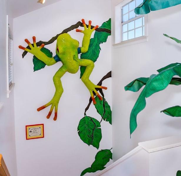 Captiva Star - Frog Art!