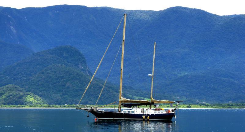 Sailing Yacht in Paraty bay, holiday rental in Paraty Mirim