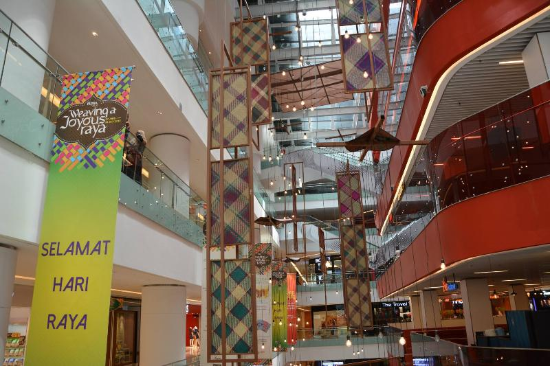 Inside Sunway Putra Mall with 5 floors of shopping, dining and activities