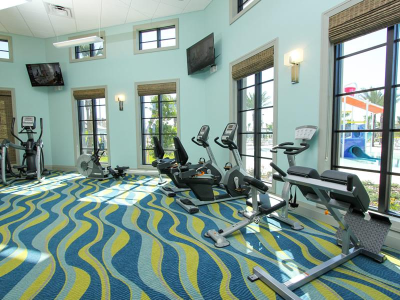 Gym at the clubhouse