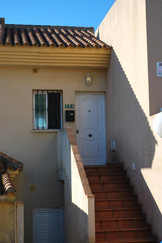 Apartment entrance. Apartment entrance.
