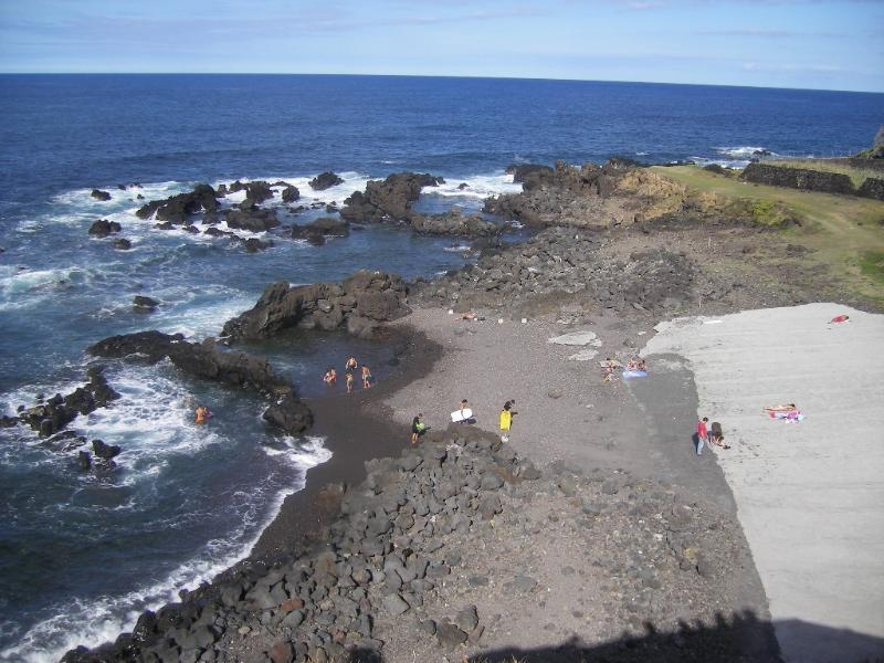 Onsite natural Reserve Lava Rock Pebble Beach natural safe pools swimming fishing all year long