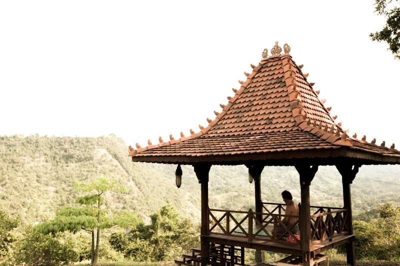 Balinesa Gazebo para Yoga y meditación