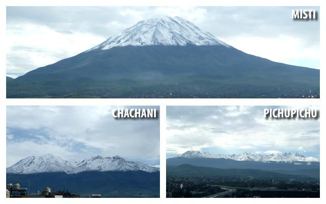 Our volcanoes to admire or climbing.