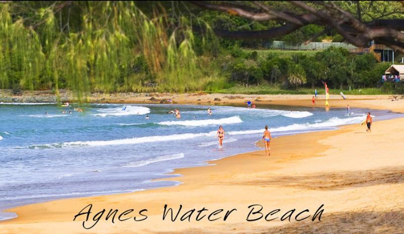Slechts 5 minuten rijden van Agnes Water surf strand