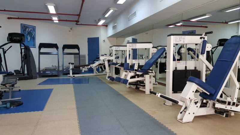 The sports facility