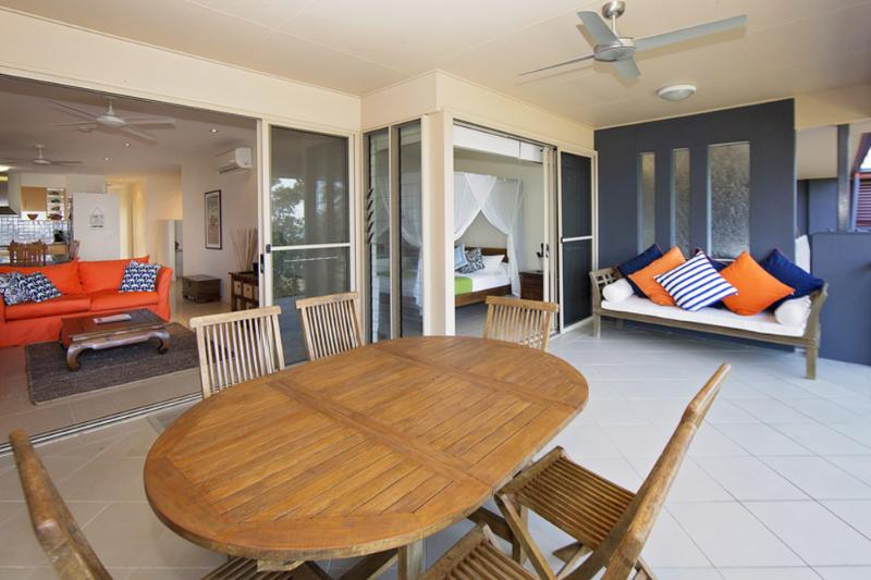 Beach House Apartment 5- Verandah