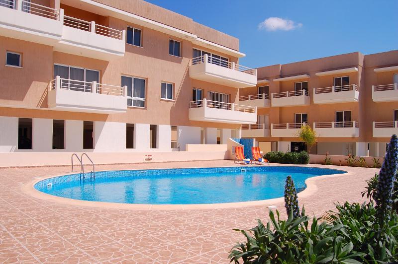 Apartment Agios commmunal pool area