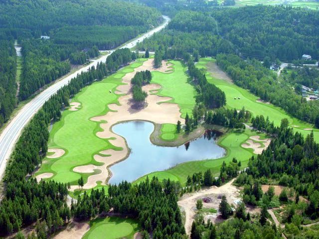 6 Golf courses in Tremblant