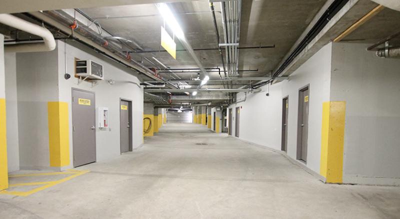 Heated Underground Reserved Parking