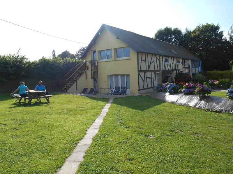 LE BALCON AU LOGIS RURAL, holiday rental in Etretat