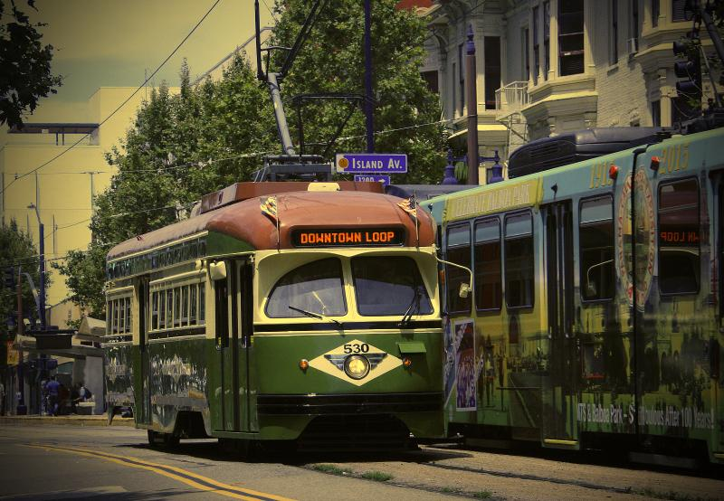 Enjoy a ride on San Diego's vintage trolley
