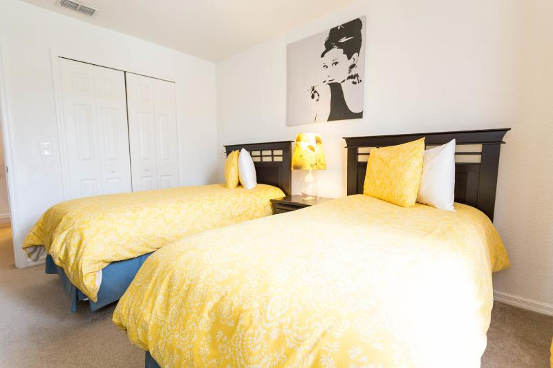 The Twin Bedroom (Yellow Beds)