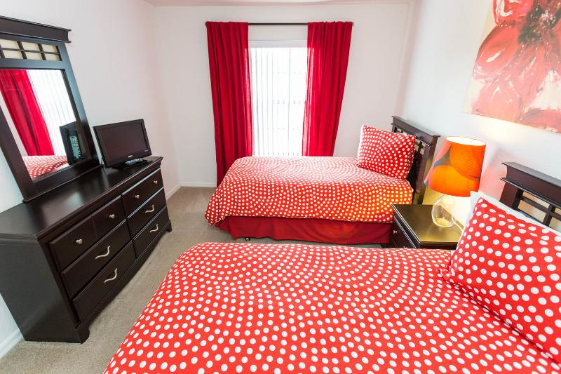 The Twin Bedroom (Red Beds)