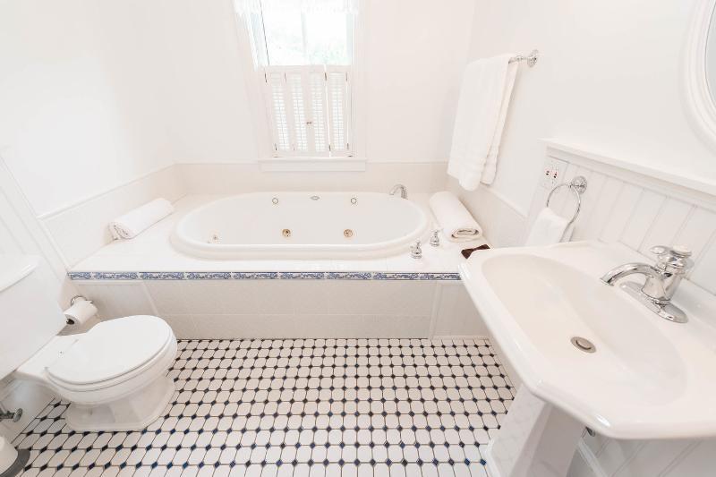 Il bagno in camera per la Sapphire serenità.