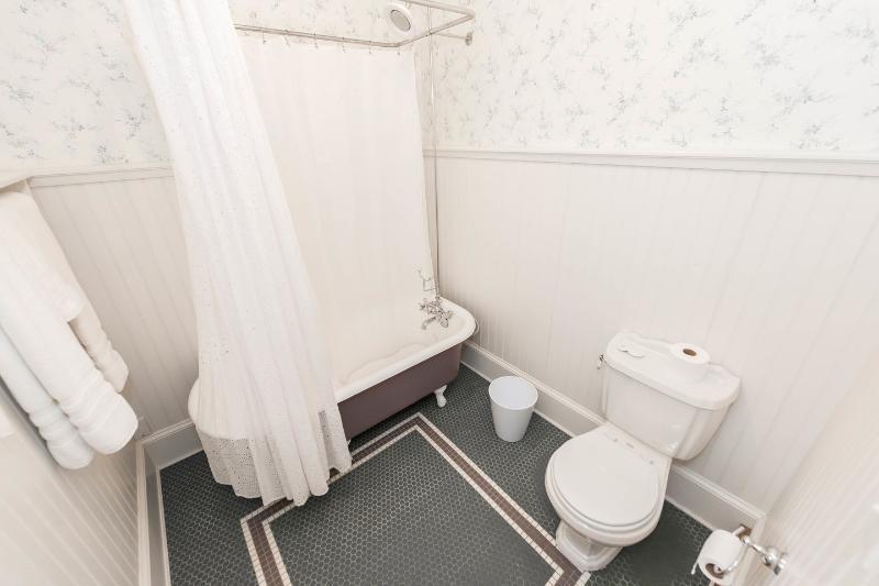 Il bagno in camera per la camera da letto fuga Smeraldo.
