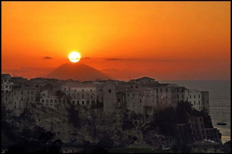 Sunset over Tropea