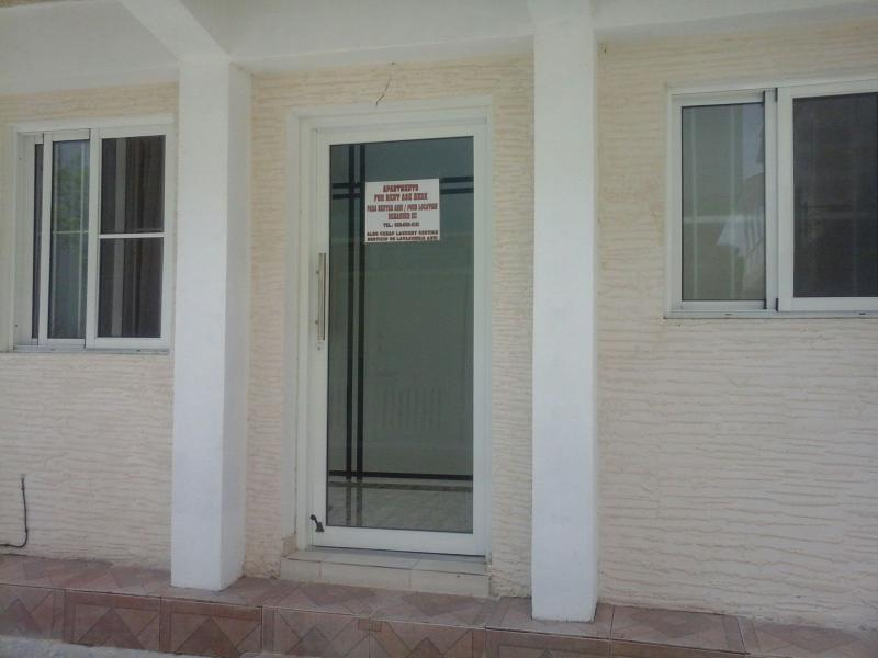 Front entrance of apartment