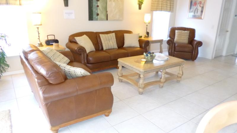 leather chairs and reclining single chair