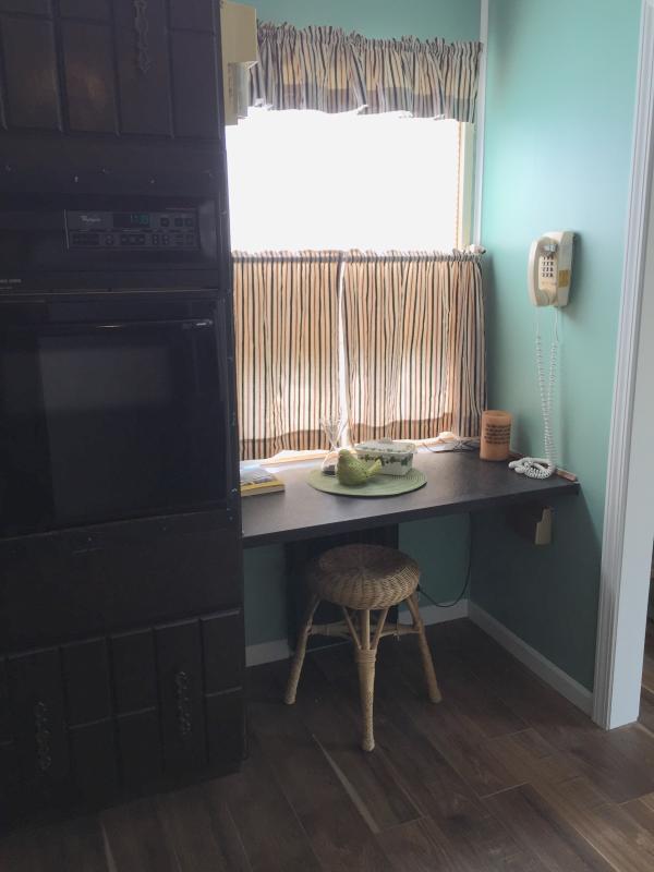 Nook area in kitchen.