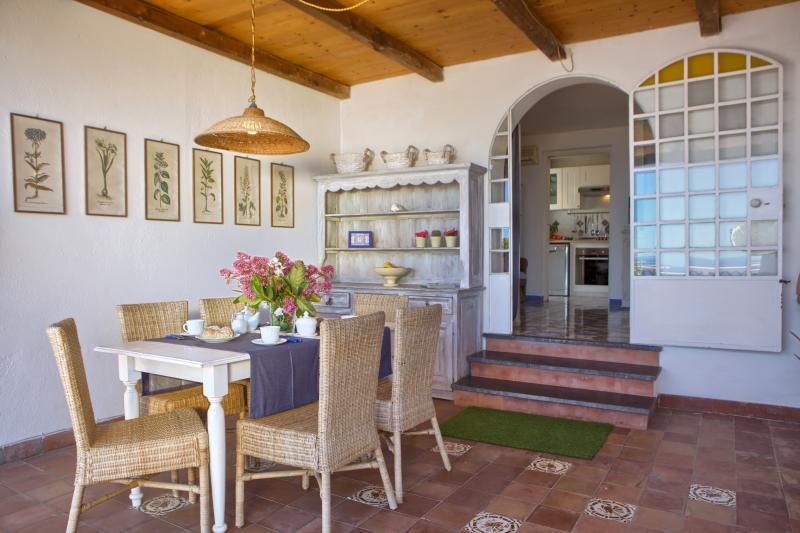 Villa Dafne Sorrento apt Rose -terrace