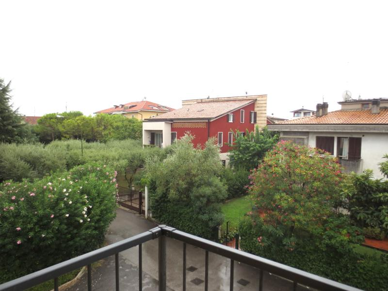 The view of the south-east from the balcony of bedroom on Via Case Nuove
