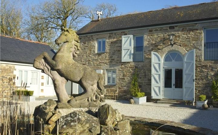 Lambriggan Court Heron Cottage, vacation rental in St Agnes