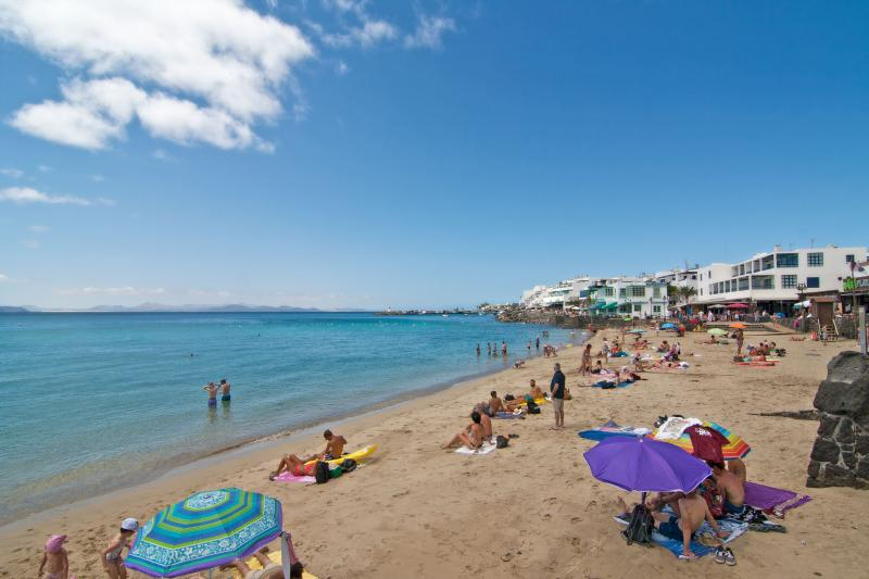 Playa Blanca beach and promenade