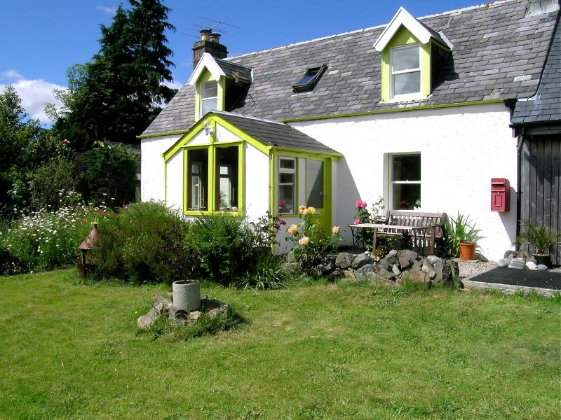 Rhu Cottage - All windows face south and have a lovely view of Loch Carron