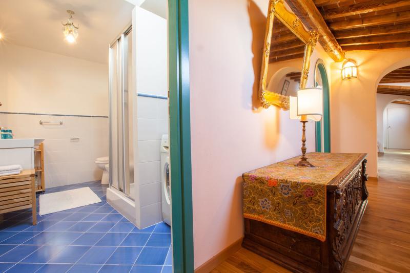 Bathroom from corridor