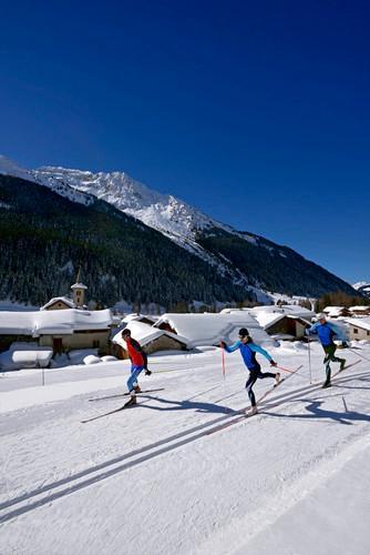 Nordic ski area