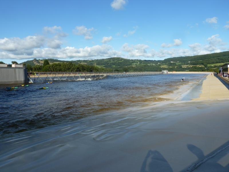 Surf Snowdonia is a great day out - even if it is raining!